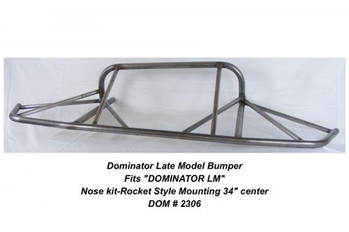 DOM-2306 DOMINATOR LM Front Bumper-Rocket Style